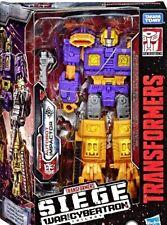 Transformers GUERRA D/'ASSEDIO sul lato Cybertron scorrere Action figure nuovo inscatolato