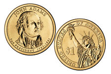 2007 $1 BU John Adams Presidential Dollar (Philadelphia Mint)