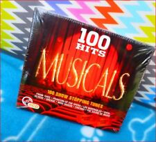 "5xCD NEW Freepost ""100 Hits Musicals: Show Stopping Tunes"" *Cats/Phantom/Grease"