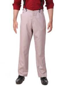 Men's Pants Trouser Classic Victorian Steampunk, finest fabric handmade!!