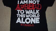 Emo Pop Punk MY CHEMICAL ROMANCE T-Shirt MEDIUM I'm Not Afraid MCR FALL OUT BOY