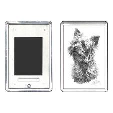 Mike Sibley licensed Yorkshire Terrier large fridge magnet  - dog lover gift