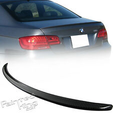 07-11 BMW E92 M3 COUPE REAL CARBON REAR TRUNK SPOILER 328i 335i
