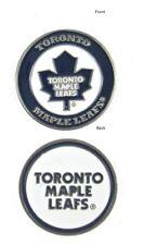 NHL Toronto Maple Leafs Golf Ball Marker Enamel Metal Team Logo 2 Sided Hat