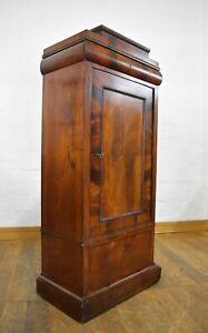 Antique Continental linen cabinet - bookcase - sentry cupboard