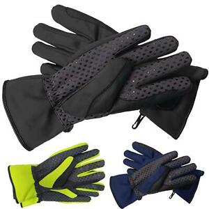 Ladies Thermal Riding Gloves Waterproof Non Slip Grip Palm Equestrian Pony Horse