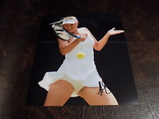 MARIA SHARAPOVA AUTOGRAPHED TENNIS 8X10  PHOTO W/COA