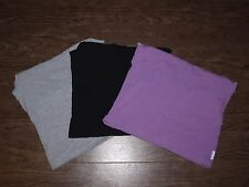 Lot of 3 Body Bleu Intimate Collection Womens Size Small Cami Purple Black Grey