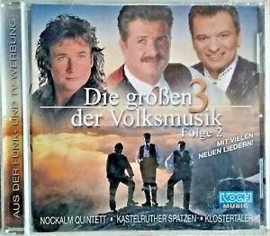 CD  Die großen 3 der Volksmusik,