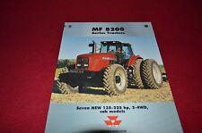 Massey Ferguson 8220 8240 8245 8250 8260 8270 Tractor Dealer's Brochure AMIL4