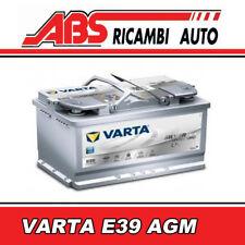 Batteria auto VARTA 70ah e39 Silver Dynamic AGM 570901076 Start-Stop Battery BMW