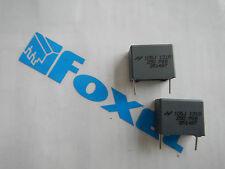Confezione 2 pz Condensatore poliestere 1mF 250V P. 15  CP1M2515