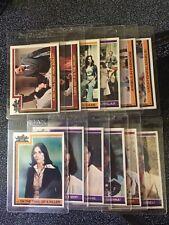 1977 CHARLIE'S ANGELS LOT - 25 CARDS - NRMT/MT CONDITION