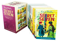 The Secret Seven 16 Books Children Collection Box Set Paperback By Enid Blyton
