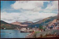 Scottish Postcard Lochgoilhead Pier Hotel School Argyll