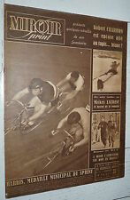 MIROIR SPRINT N°141 1949 BOXE 6 JOURS FOOTBALL REIMS LE HAVRE HAC RUGBY XIII XV