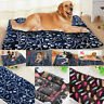 Large Washable House Blanket Dogs Cats Bed Cushion Mattress Kennel Soft Mat Pet