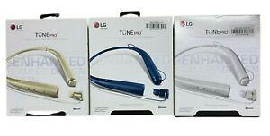LG Tone Pro HBS-780 Premium Wireless Bluetooth Stereo Headset Blue White Gold