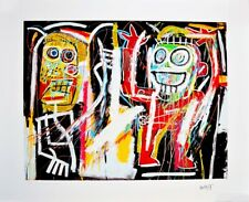 """JEAN-MICHEL BASQUIAT """"DUSTHEADS"""" LIMITED EDITION #2 OF 30"""