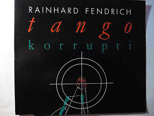 "Rainhard Fendrich   Tango Korrupti   5"" Maxi - CD   3 Tracks  1988 ultra rar!!!"
