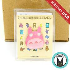 Japan Limited Ghibli Museum Mitaka Exclusive My Neighbor Totoro Pink Pin Badge