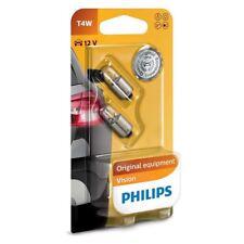 Philips T4W bombilla halógena de visión 233 12 V 4 W BA9s 12929B2 Twin