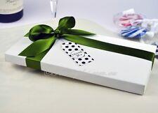 50 x White DL Invitation Box - Semi Gloss White