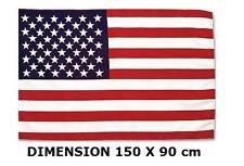 BANDIERA AMERICANA AMERICA - DEGLI STATI UNITI - USA - 150 X 90 cm