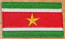 SURINAME Surinam Country Flag Embroidered PATCH