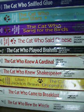 CAT WHO mysteries +other Cats Ea $1 Rita Mae Brown
