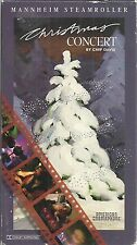 Christmas Concert by Mannheim Steamroller very good vhs