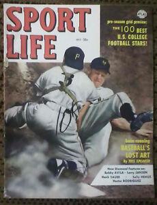 Sport Life, Oct. 1952, Larry Jansen - New York Giants Cover, Ex Condition!