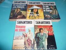 1965 ... Lot 5 San Antonio (Chez les Mac, Un éléphant, En long, Bérurier, Tango)