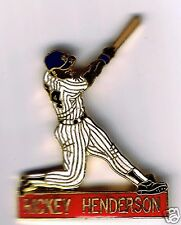 MLB souvenirs - HOFer Rickey Henderson (as NY Yankee) Commemorative Player pin