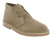 Roamers 2 Eye Desert Boots Mens Boys Real Suede Leather M467 Chisel Toe UK3-12