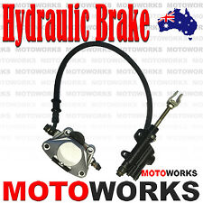 Hydraulic D Rear Disc Brake Caliper System 150cc 250cc ATV QUAD Bike Gokart bugg