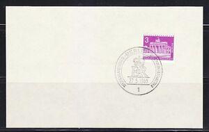 Germany Berlin 1965 used post card Queen Elizabeth II visit GBM01
