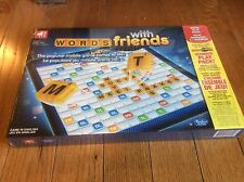 WORDS WITH FRIENDS Board Game Hasbro Gaming New, Sealed 2012