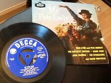 1958 THE BEVERLEY SISTERS , THE STARGAZERS , DAVID WHITFIELD . MY FAIR LADY E.P