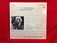 Charlie Christian w/ the Benny Goodman Sextet and Orchestra Columbia 652 33rpmLP