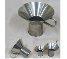 ฺBig Canning Funnel Wide Mouth Funnel Stainless Steel