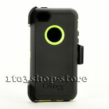 OtterBox Defender Rugged Hard Case Cover w/Holster for iPhone 5c Dark Gray/Lime
