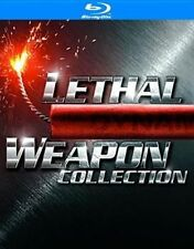 Lethal Weapon Collection 0883929241743 With Danny Glover Blu-ray Region a