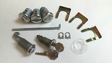 1968 Chevrolet Camaro Lock Cylinder Set Ignition Door Trunk Glove Box Keys