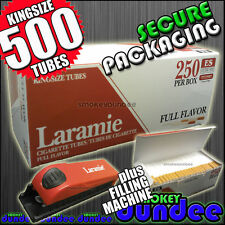 500 LARAMIE Cigarette Filter Tubes & Filler - The New Make Your Own Concept