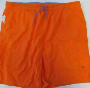NWT Polo Ralph Lauren Swim Shorts Trunks w/ Cargo Pocket Size 2X BIG