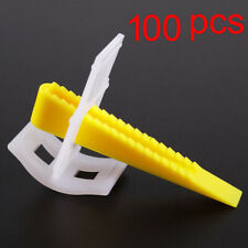 200 Tile Spacers Leveling Clips Wedges Tiling Leveling Alignment System T Shaped