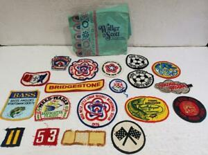 Vintage Lot of 18 Assorted 1980's Sew On Patches