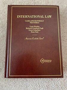 International Law 3rd Edition American Casebook Series West Publishing