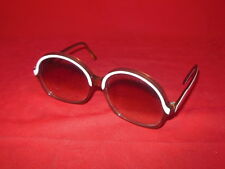 1D NORELL 101 Vintage Ladies Sunglasses Made In France Copper White Finish 1978